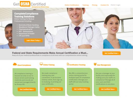 Get OSHA Certified