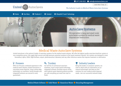 United Autoclaves